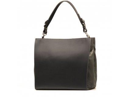 Kožená kabelka Chiara šedá