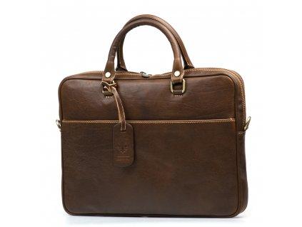 Kožená pracovní taška Onda fango