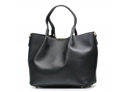 Kožená kabelka Maurin černá