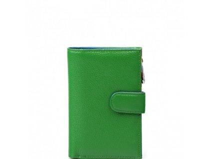 Dámská kožená peněženka Catrina zelená