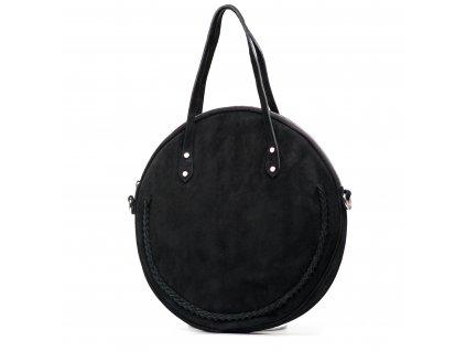 Kožená kabelka Marisel černá