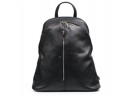 Kožený batůžek Joan černý