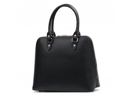 Kožená kabelka Camilla černá