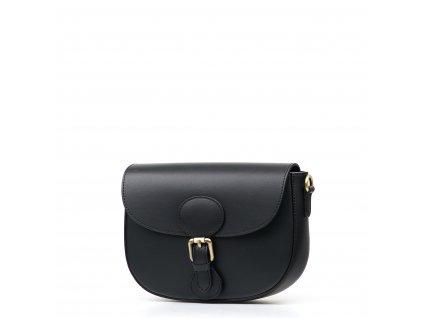 Kožená crossbody kabelka Josie černá