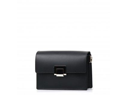 Kožená kabelka Gaby černá