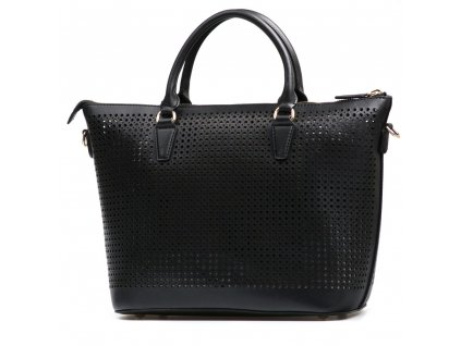 Kožená kabelka Simona černá
