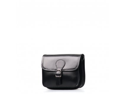 Kožená crossbody kabelka Fabienne černá