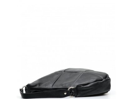 Kožená kabelka Alexis černá