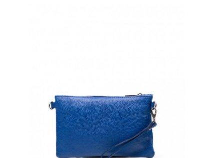 Kožená mini kabelka Bonita modrá