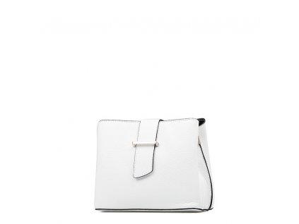 Kožená kabelka Margo bílá