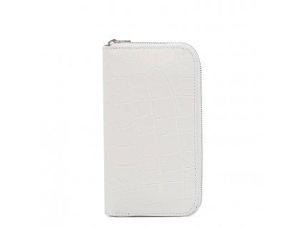 Dámská kožená peněženka Porzia bílá