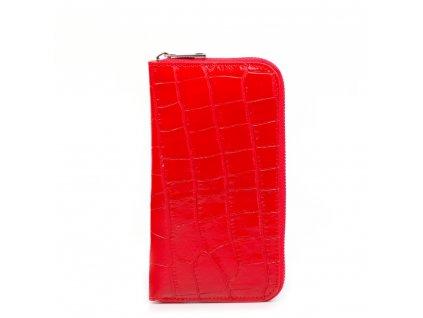 Dámská kožená peněženka Porzia červená