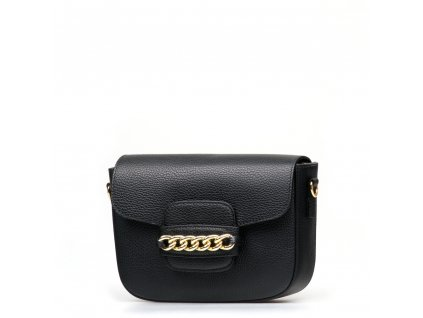 Kožená kabelka Noelle černá