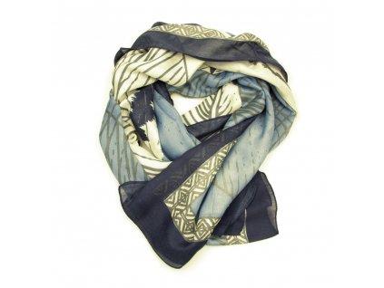 Dámský šál Arten modro-béžový