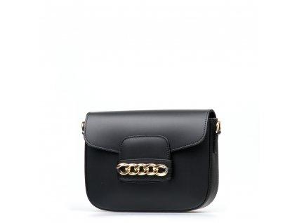Kožená kabelka Vania černá
