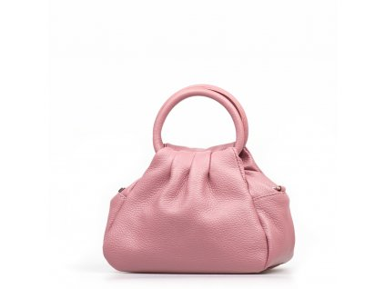 Kožená kabelka Vanesa růžová