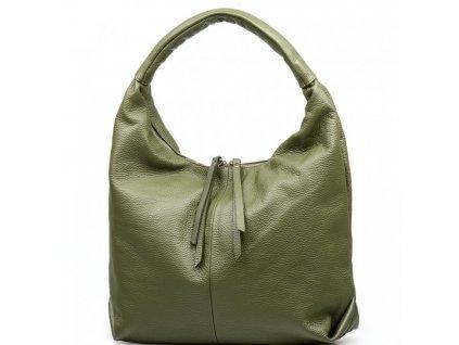 Kožená kabelka Julianna zelená