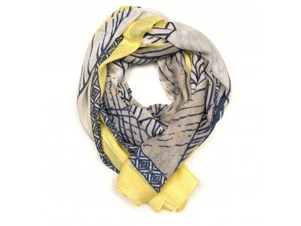 Dámský šál Arten žluto-béžový