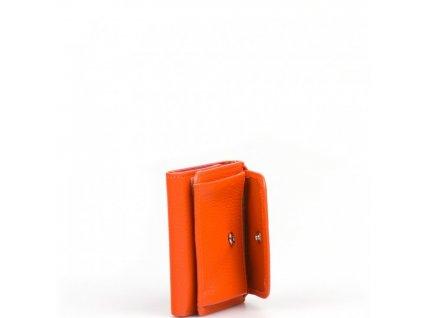 Dámská kožená peněženka Betta oranžová