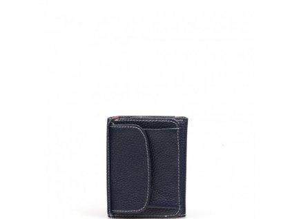 Dámská kožená peněženka Betta tmavě modrá