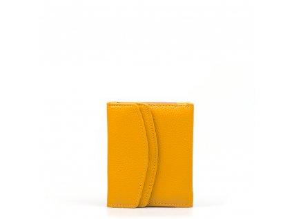 Dámská kožená peněženka Ingrid hořčicově žlutá