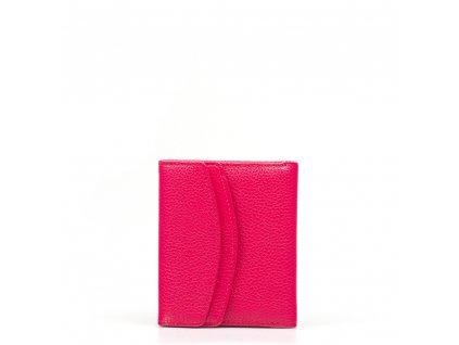 Dámská kožená peněženka Ingrid fuchsiová