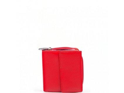 Dámská kožená peněženka Nara červená