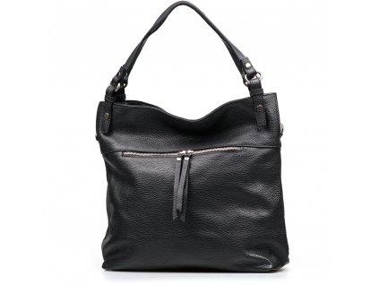 Kožená kabelka Maia černá