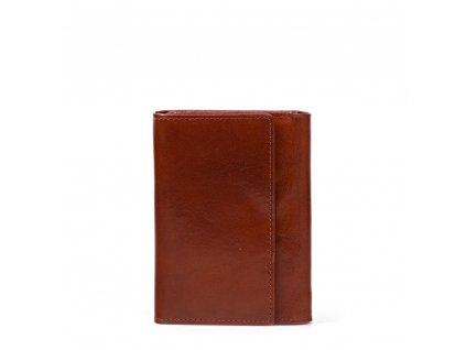 Kožená peněženka Lila hnědá