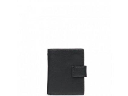 Dámská kožená peněženka Nikol černá