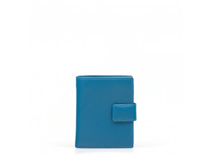 Dámská kožená peněženka Nikol modrá