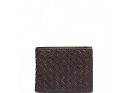 Pánská kožená peněženka Tita hnědá