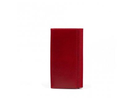 Kožená peněženka Nancy vínová