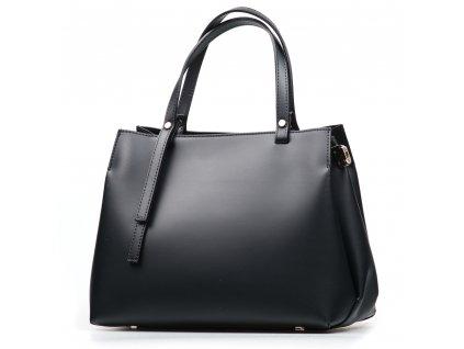 Kožená kabelka Manola černá