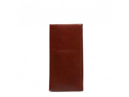 Kožená peněženka Elisa hnědá