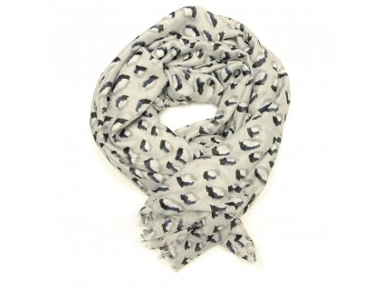 Dámský šál Ibis šedý