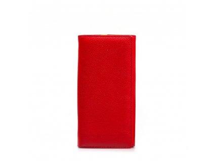 Kožená peněženka Gala červená