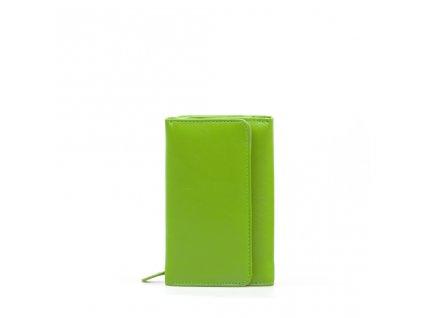 Kožená peněženka Tina zelená