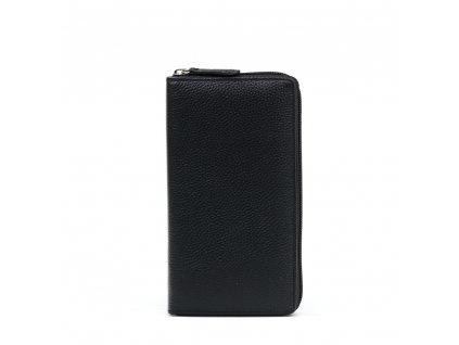 Kožená peněženka Rina černá