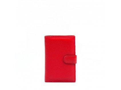 Kožená peněženka Ilsa červená