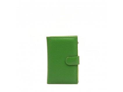 Kožená peněženka Ilsa zelená