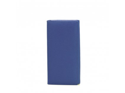 Kožená peněženka Elena modrá