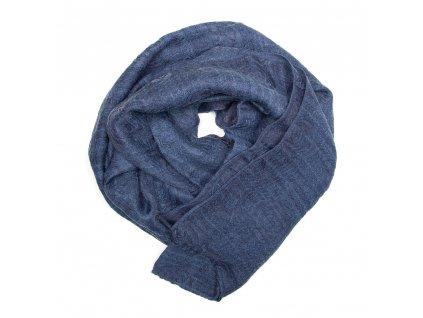 Dámský šál Leola modrý