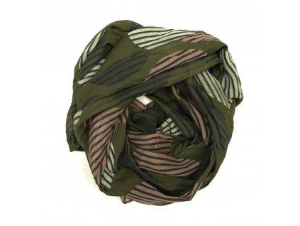 Dámský šátek Tona zelený