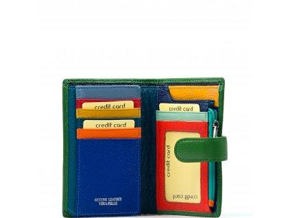 Kožená peněženka Marion zelená