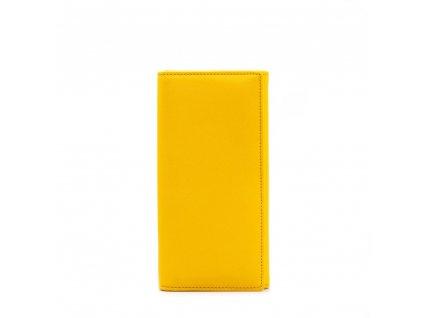 Kožená peněženka Elena žlutá