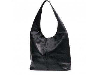 Kožená kabelka Soraya černá
