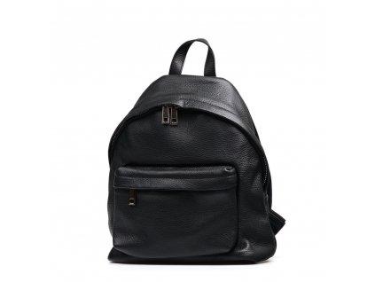 Kožený batůžek Sissi černý