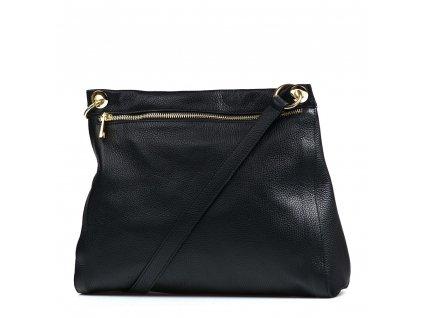 Kožená kabelka Rita černá