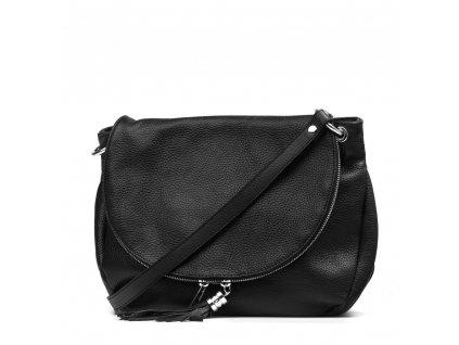 Kožená kabelka Sonia černá